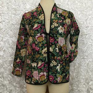 Vintage | Edith Flagg Floral Quilted Jacket